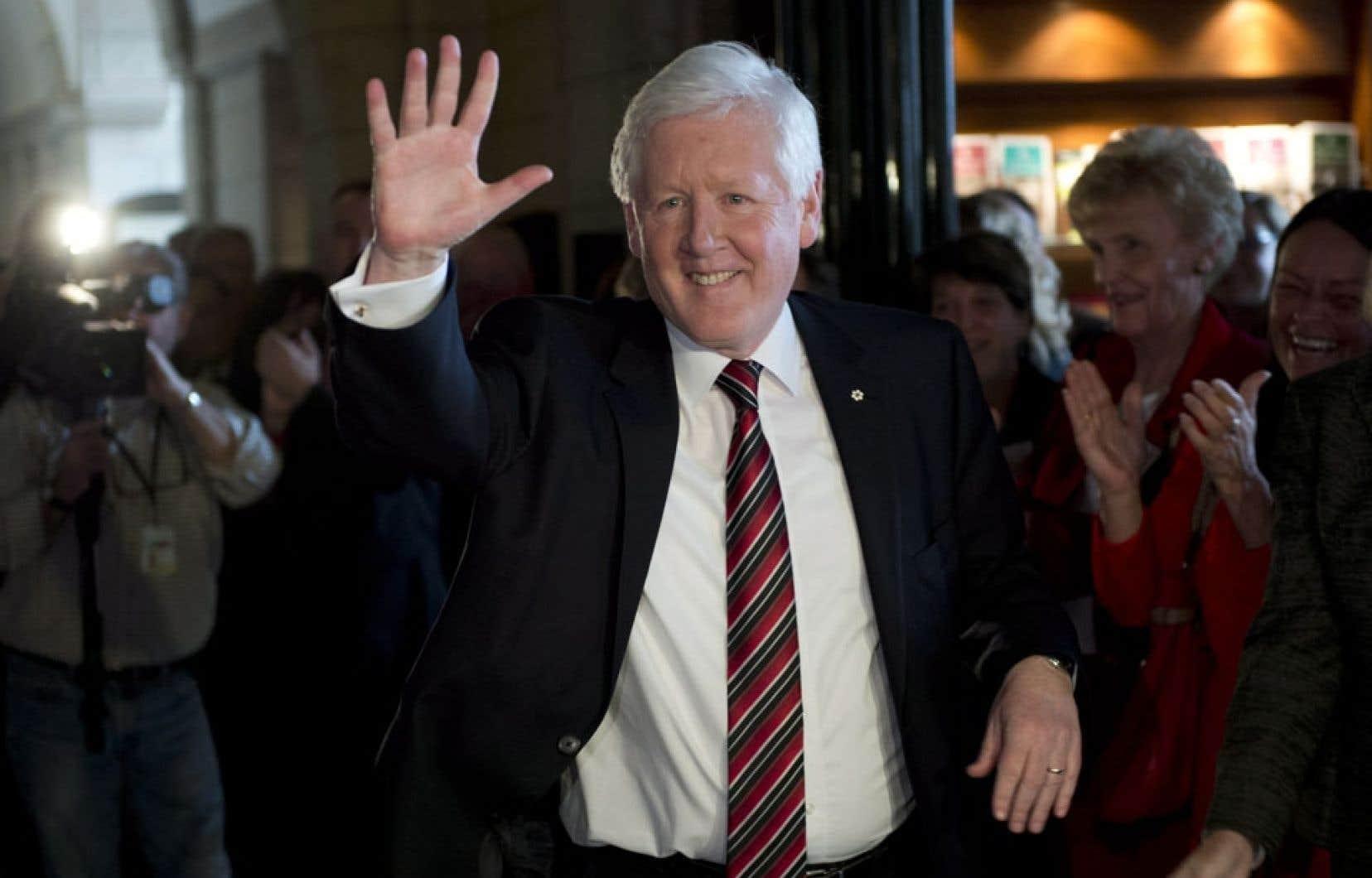 Bob Rae tiendra les rênes du Parti libéral du Canada jusqu'au 14 avril.
