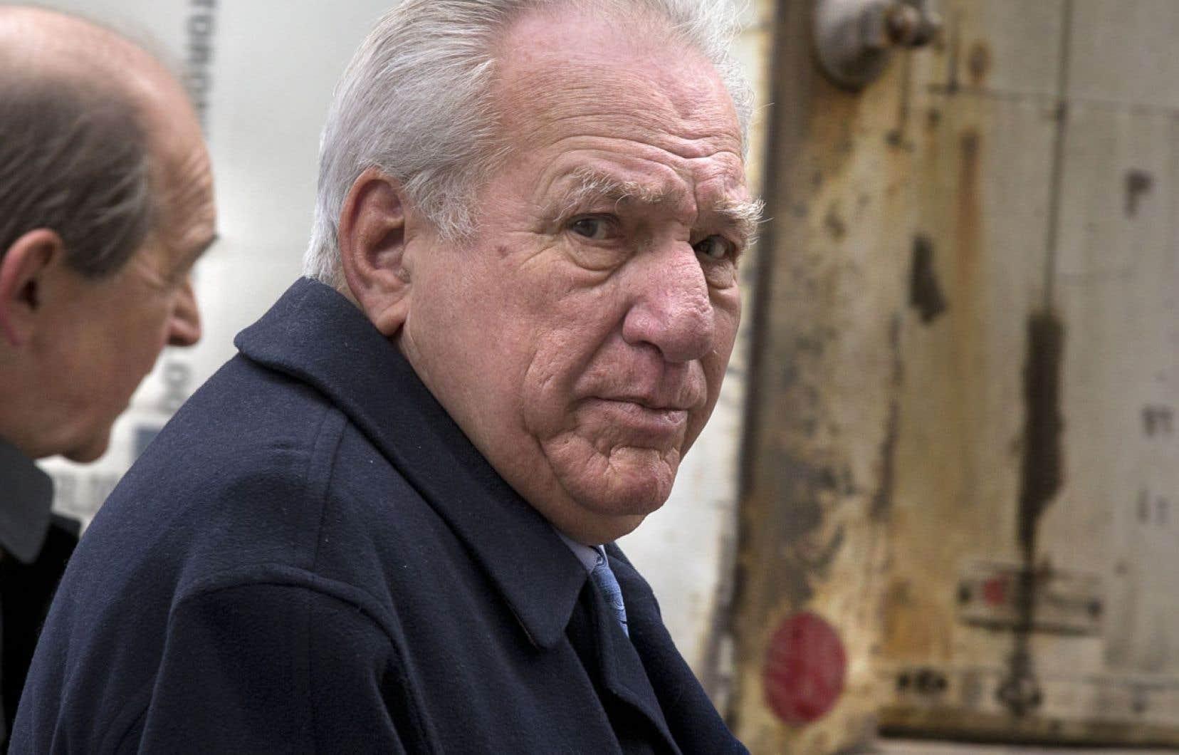 Bernard Trépanier est un curieux témoin qui donne beaucoup de fil à retordre au procureur Denis Gallant.