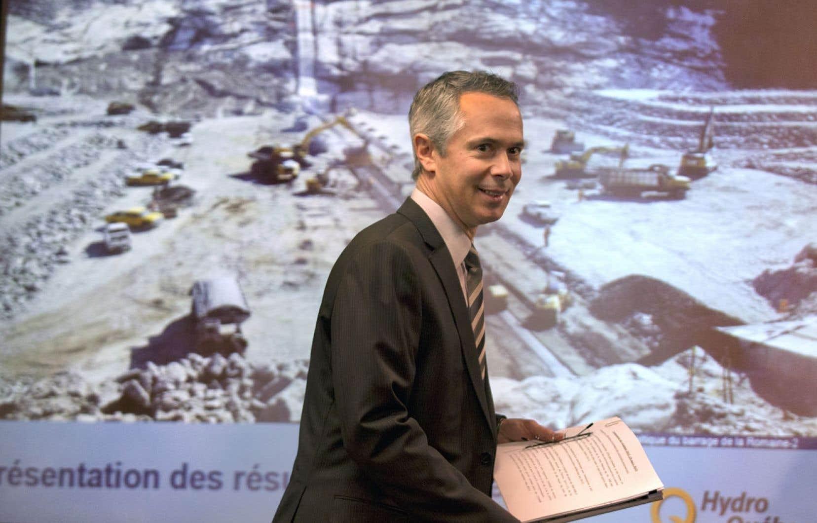 Le grand patron d'Hydro-Québec estime que les façons de faire de la société d'État lui ont permis d'éviter d'être victime des tricheurs que l'on voit défiler à la commission Charbonneau.