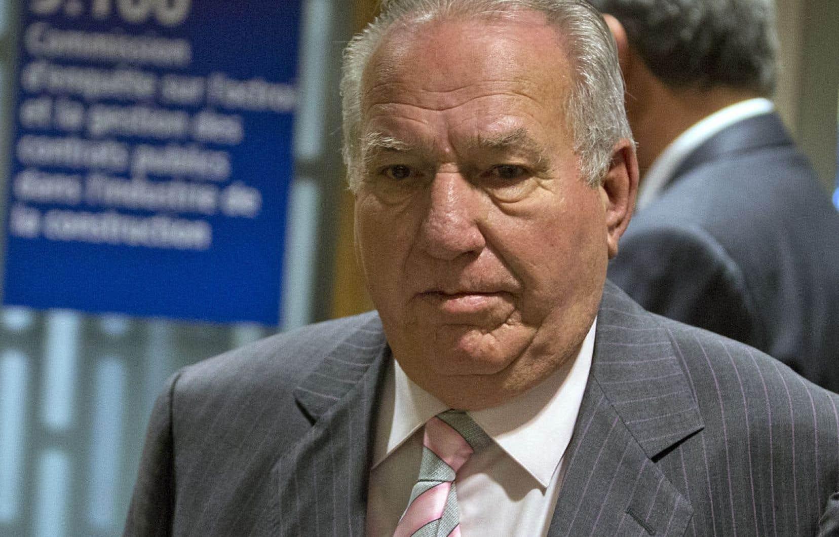 Bernard Trépanier poursuit son témoignage à la commission Charbonneau.