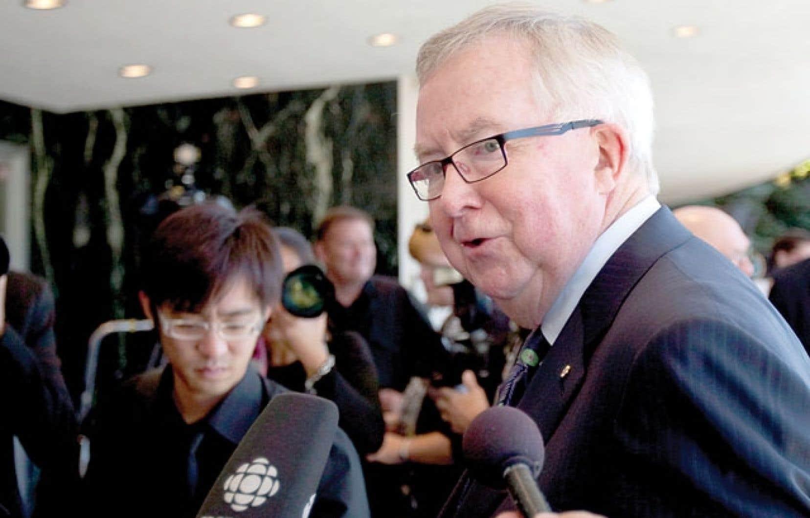 Joe Clark déplore le retrait du Canada de la Convention de l'ONU pour lutter contre la désertification.