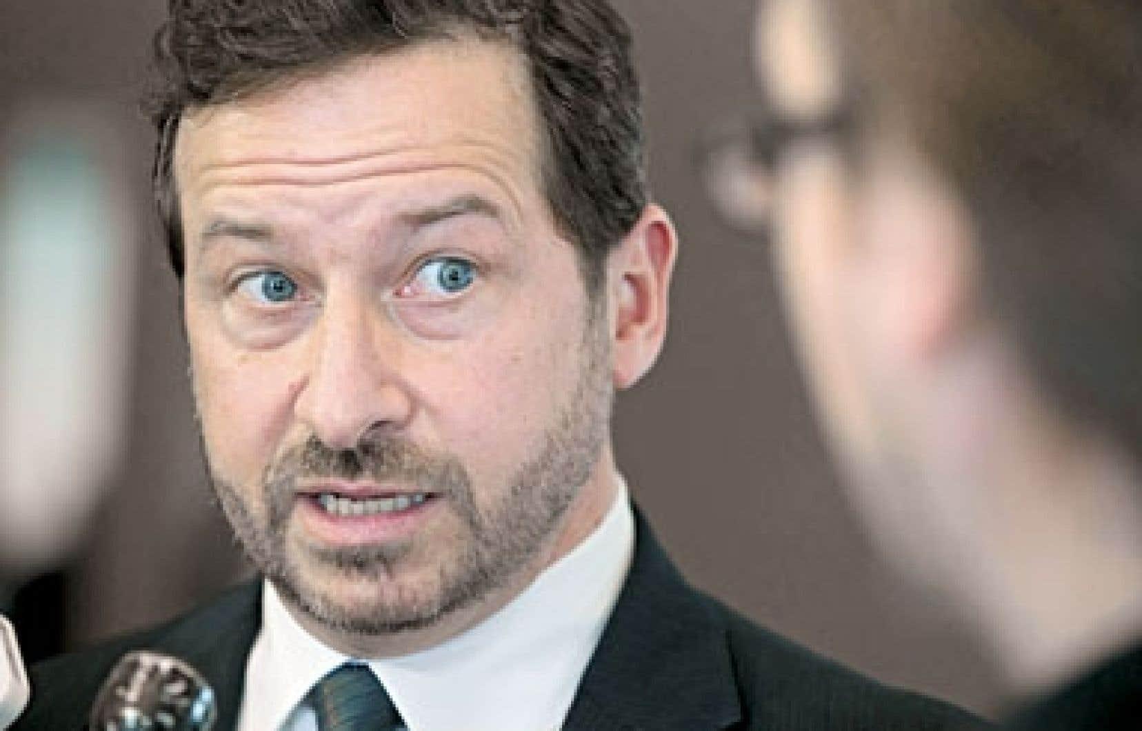 Le ministre Yves-François Blanchet a admis que l'annonce de TransCanada mardi « n'est pas vraiment une surprise ».