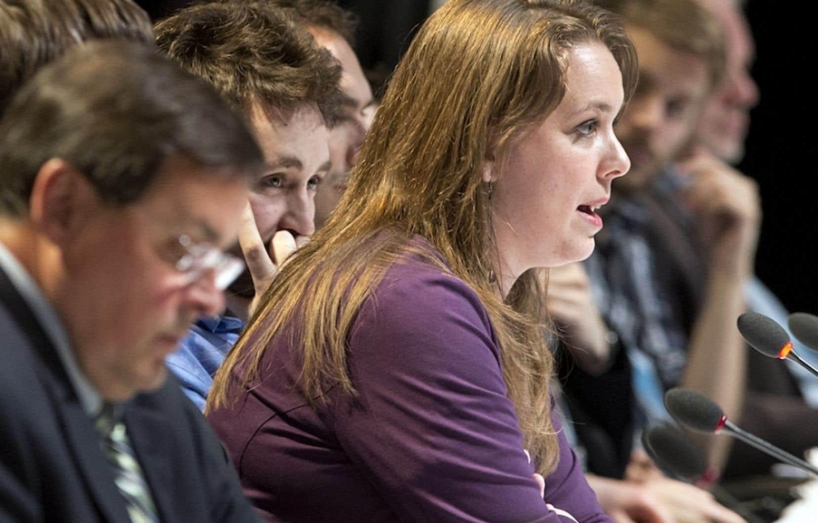 Le mandat de deux ans de Martine Desjardins arrivera à son terme le 1er mai.