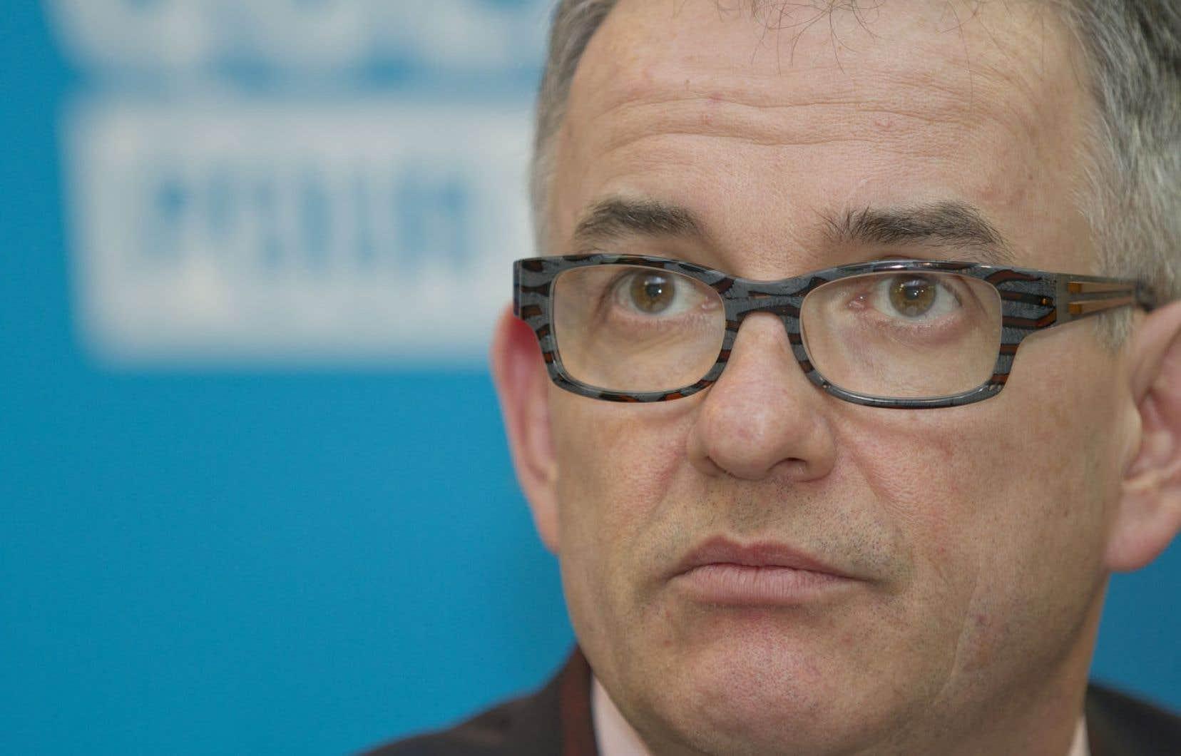 Réjean Hébert, ministre de la santé