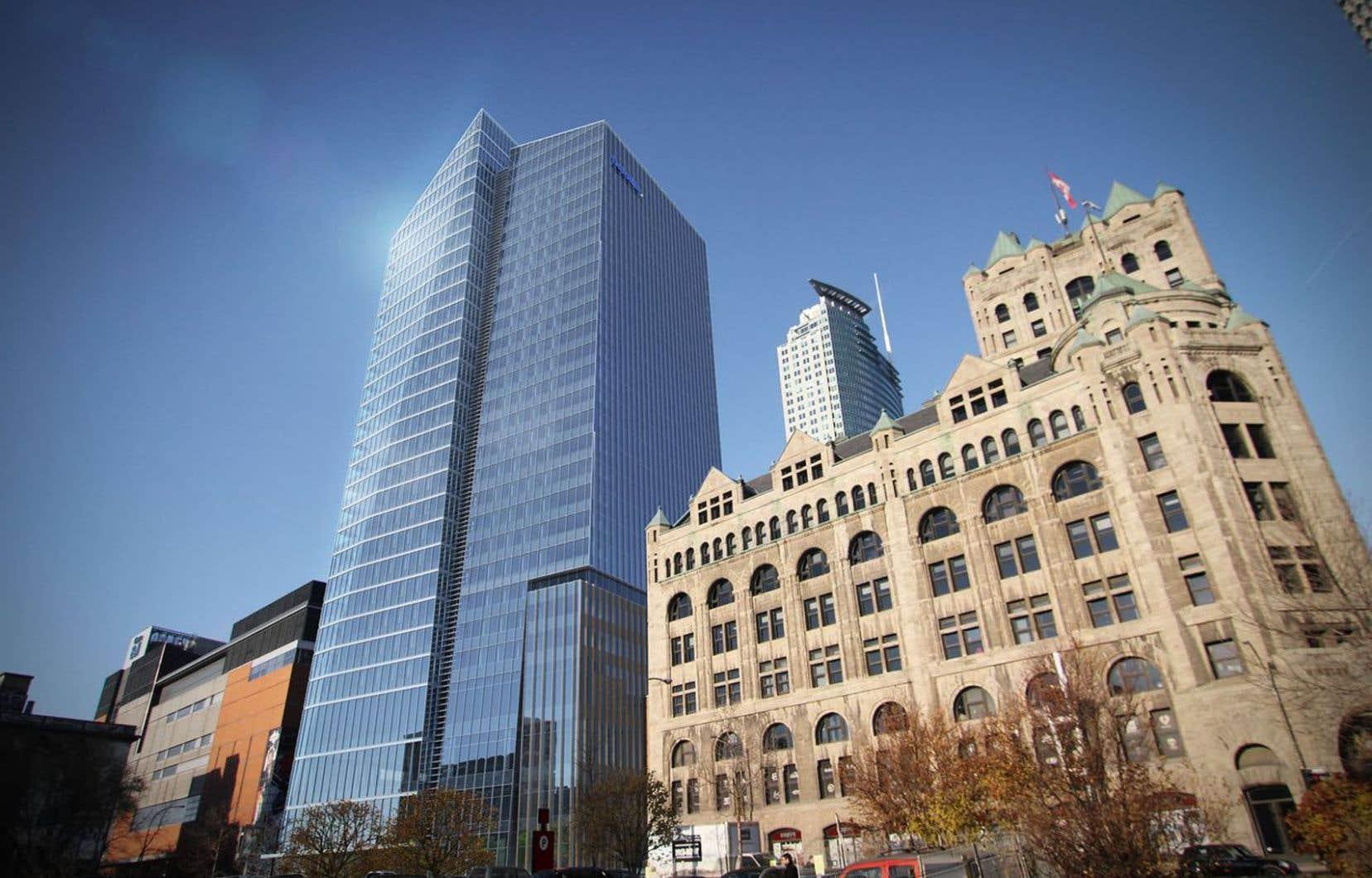 Tour de bureaux un nouveau centre ville se dessine dans le ciel