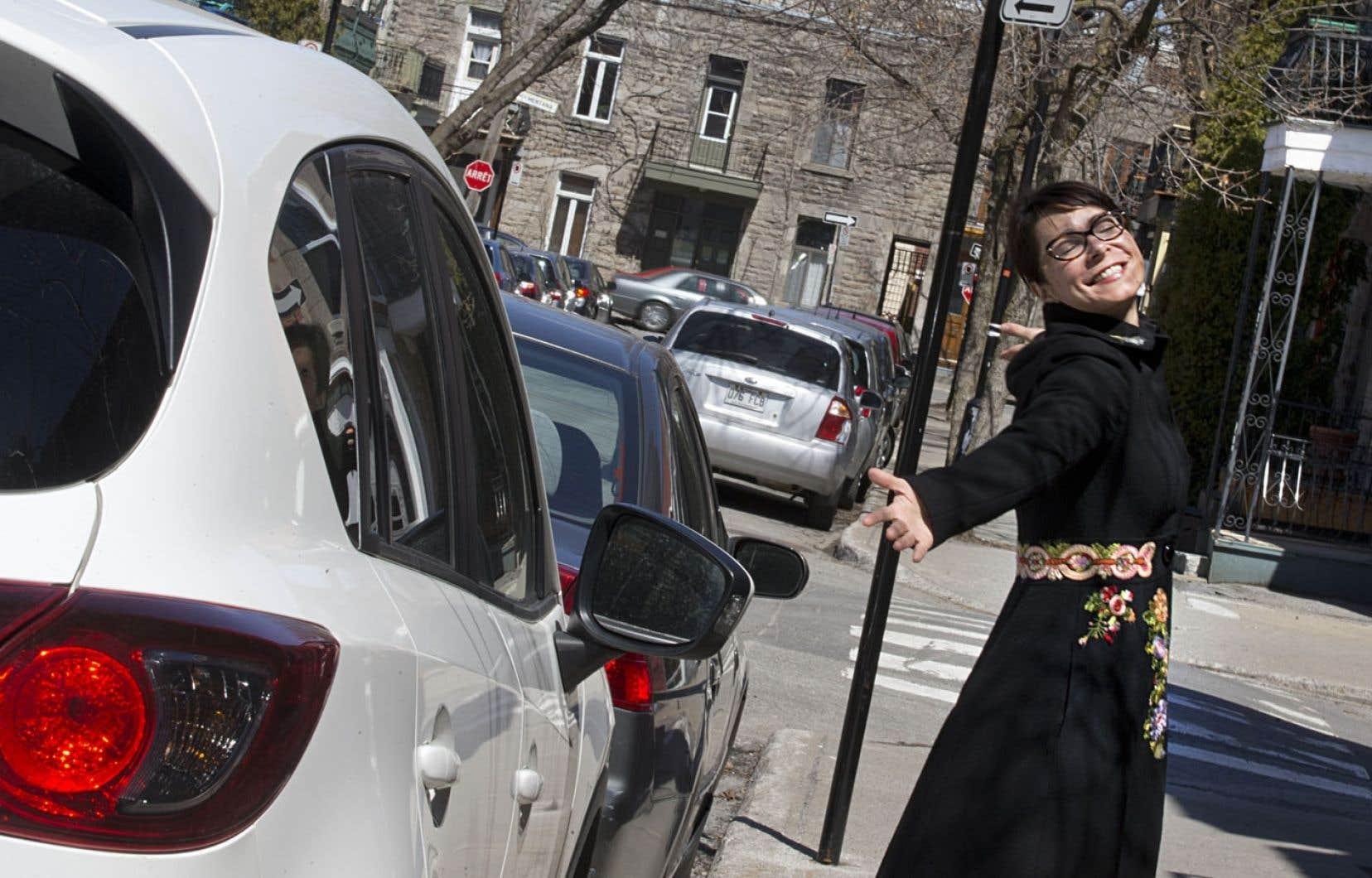 Loin d'être éco-écœurée, l'animatrice Marie Plourde prête ses clés. On aimerait tous être son voisin…