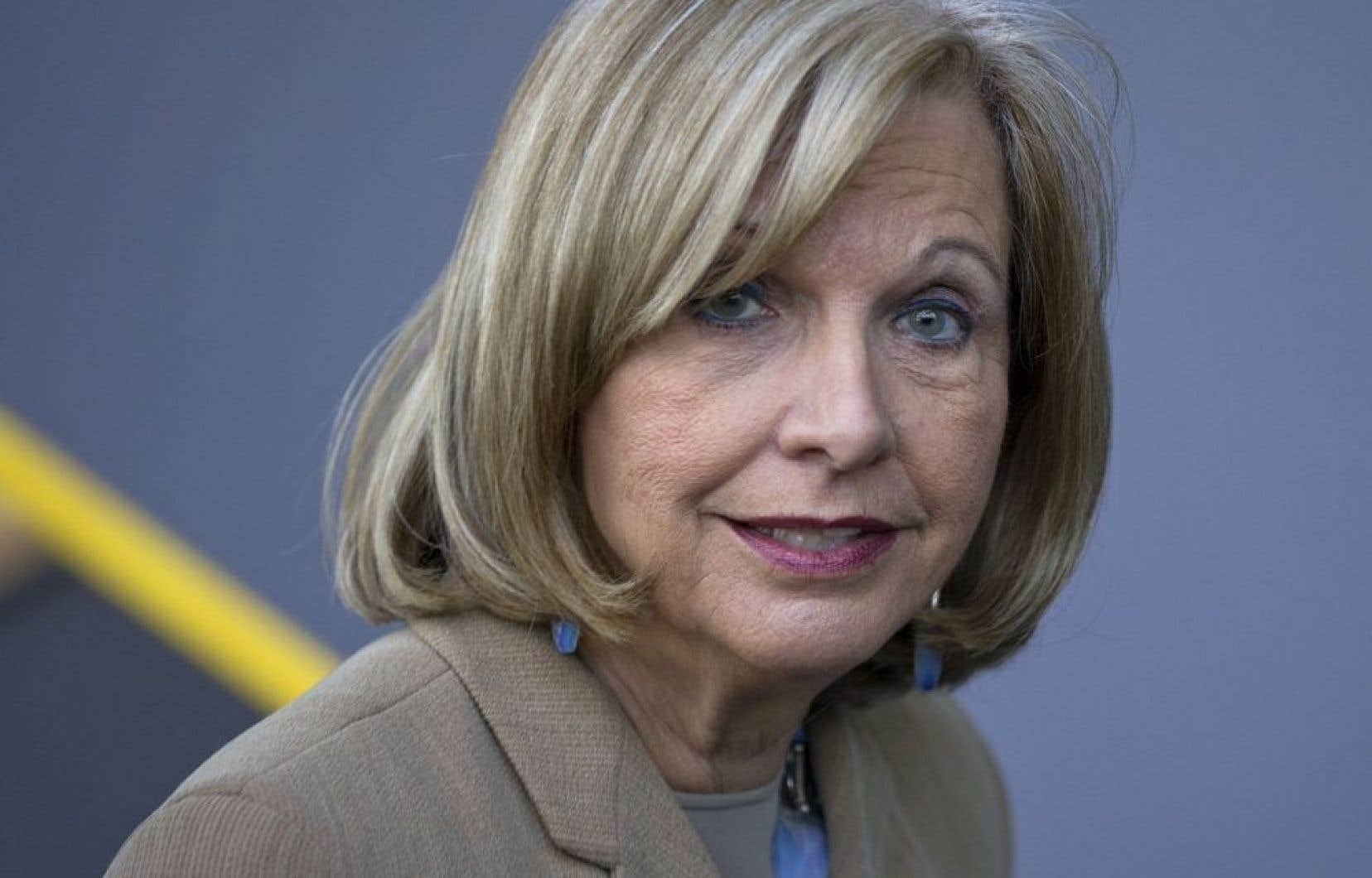 Des cibles ont été proposées par la «Table des partenaires influents», coprésidée par l'ex-ministre libérale Monique Jérôme-Forget. Elle était la seule parmi les huit membres du comité à prôner l'instauration de quotas.