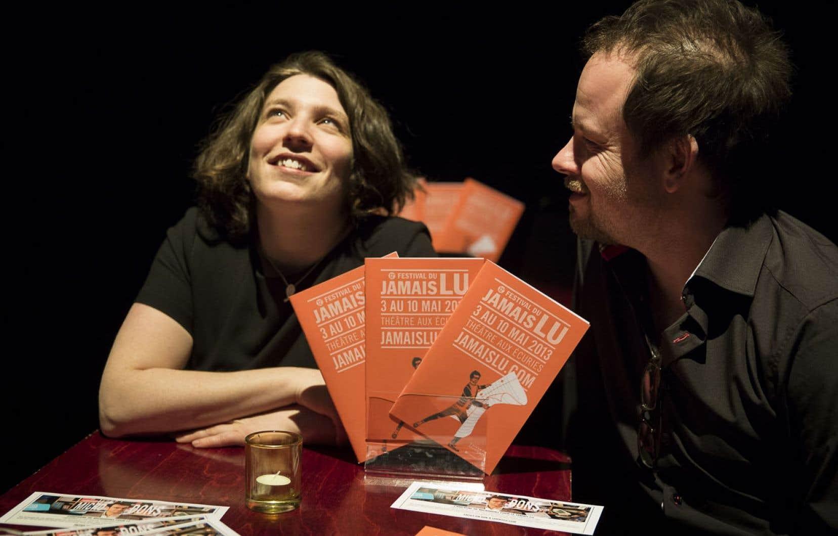 Pour cette 12e édition, placée sous le thème de ce qui nous lie à l'autre, Marcelle Dubois a demandé au metteur en scène et comédien Geoffrey Gaquère de l'assister à la direction artistique.