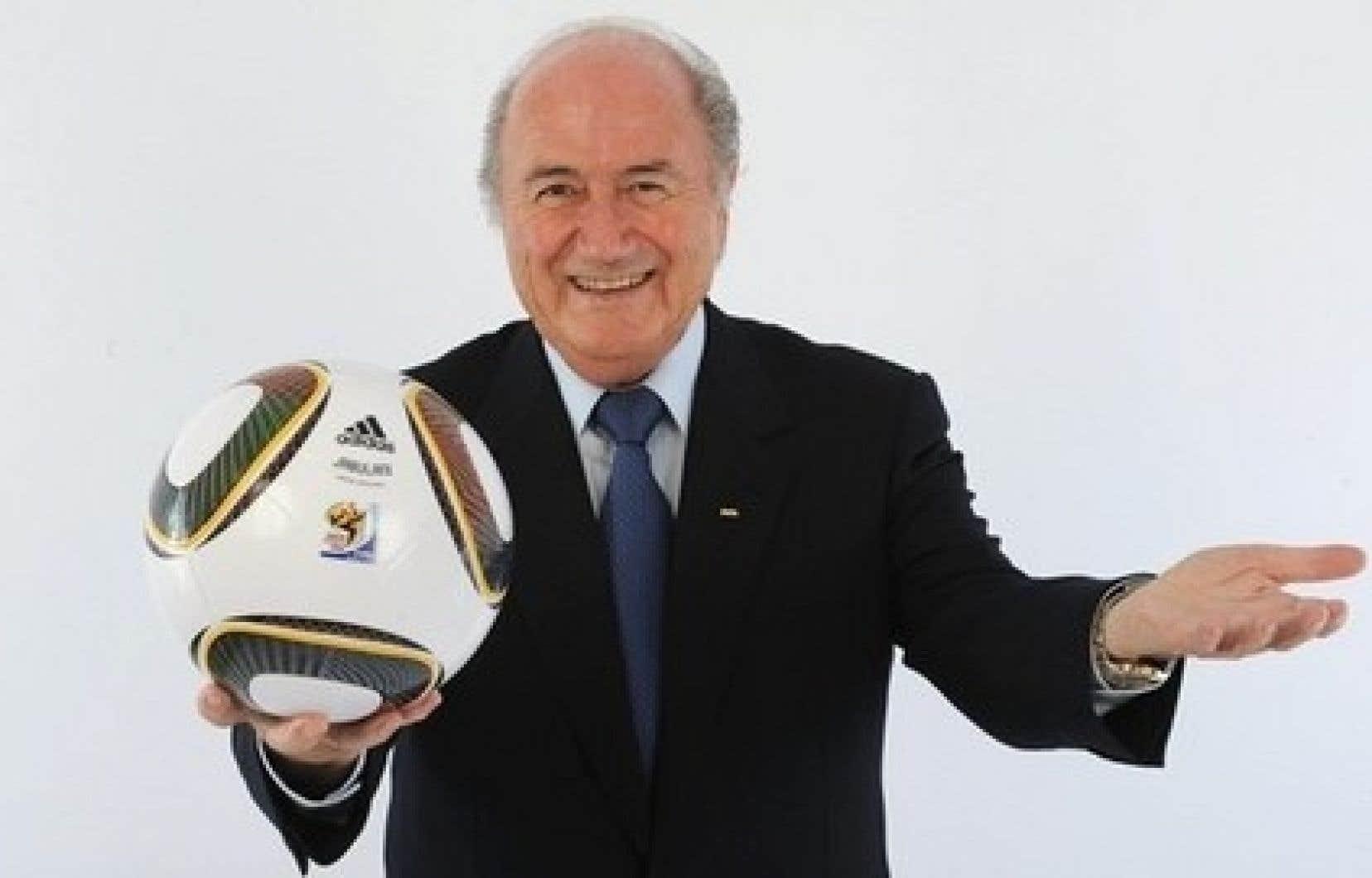 Le président de la FIFA Joseph Blatter