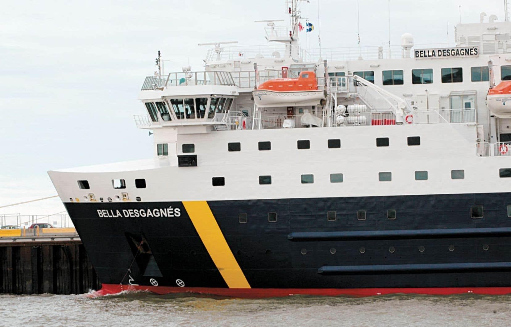 Conçu en Croatie et parachevé en Italie, le Bella Desgagnés est doté des plus récents équipements de navigation.