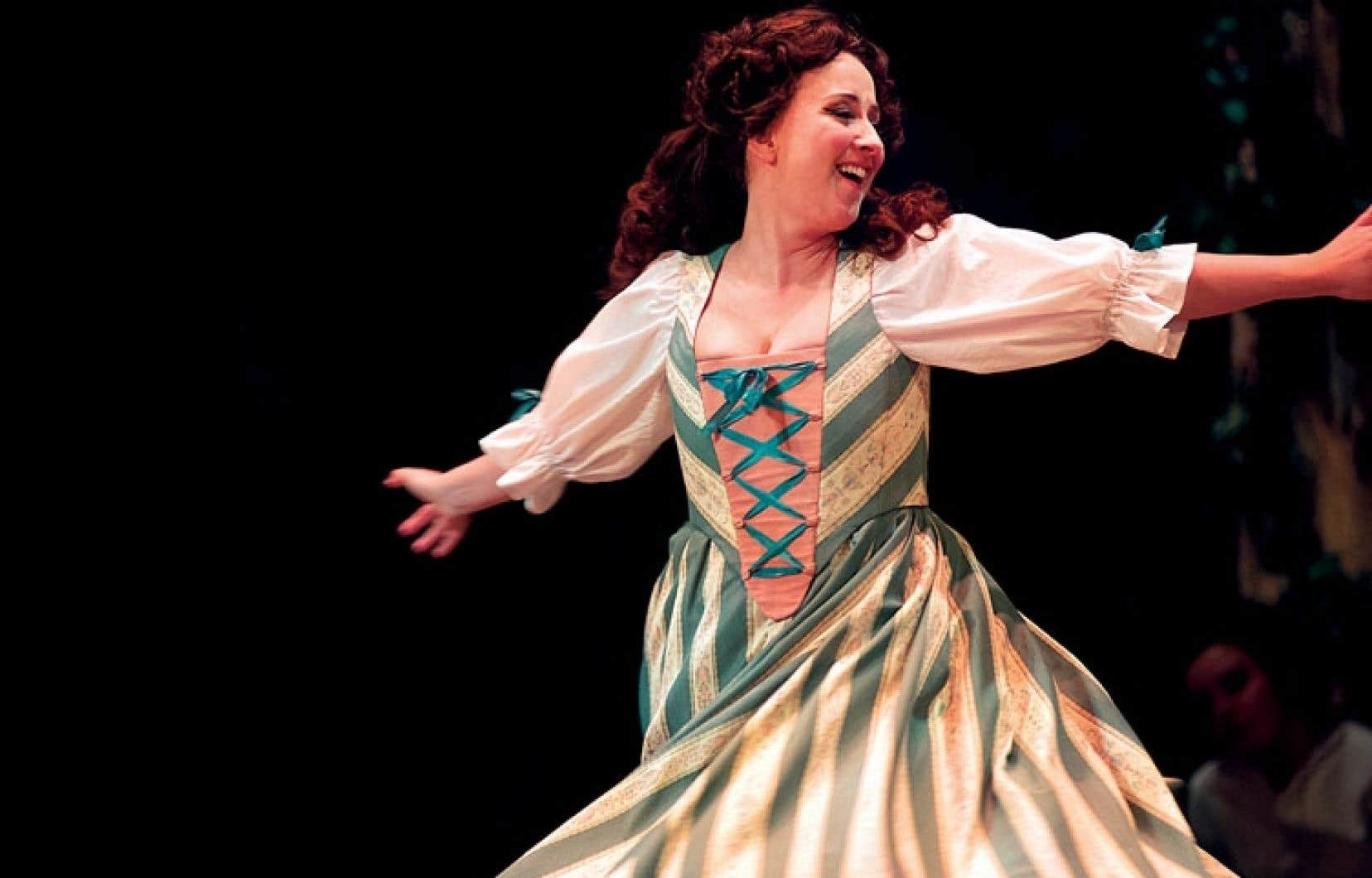 Marianne Fiset campe une Manon vocalement très nuancée, plus émouvante qu'enflammée.