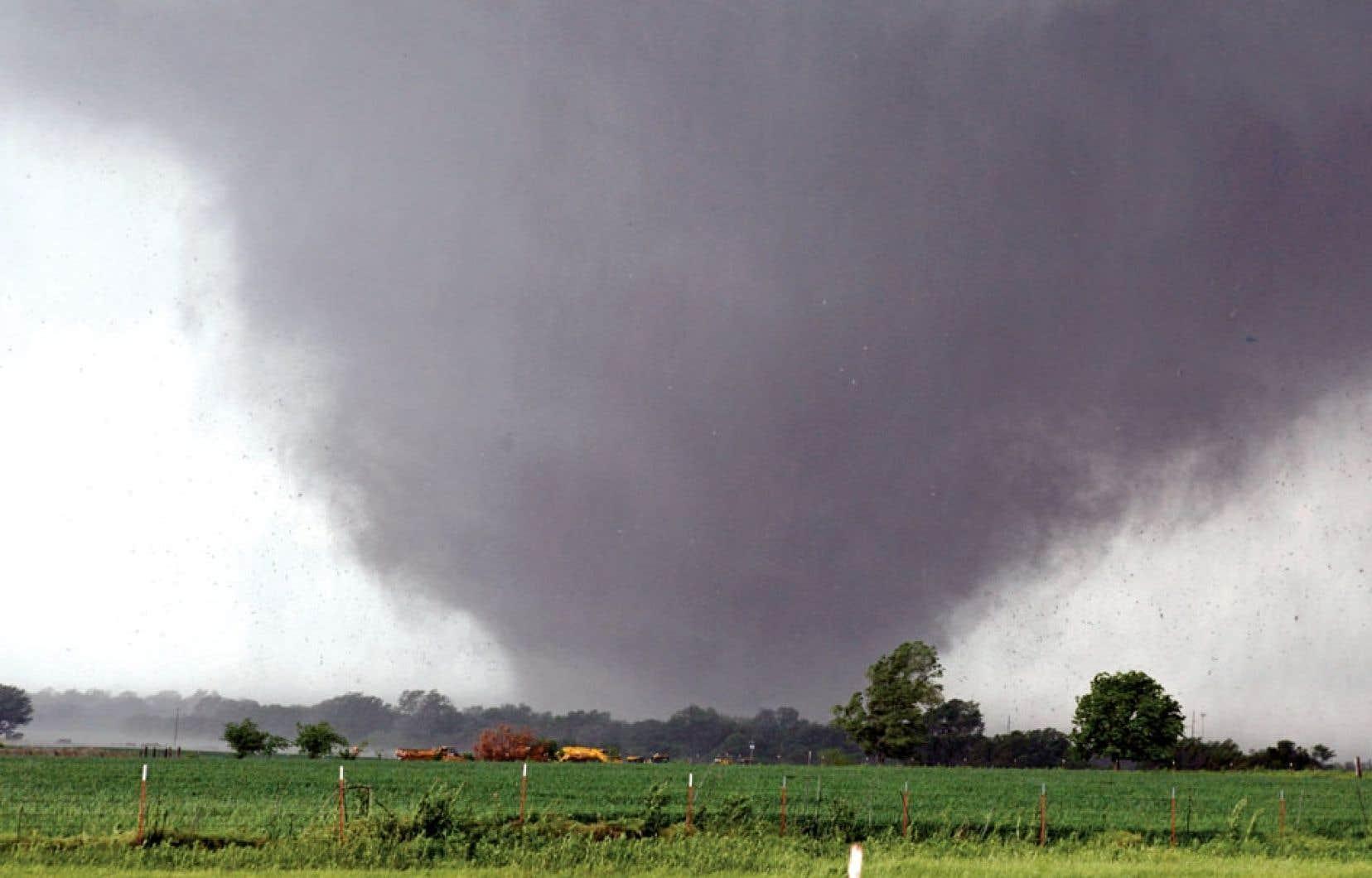 La tornade avait un diamètre de deux kilomètres.