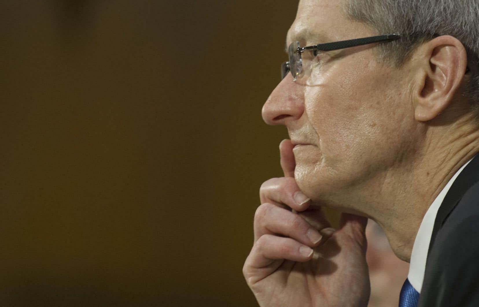 Tim Cook, grand patron d'Apple
