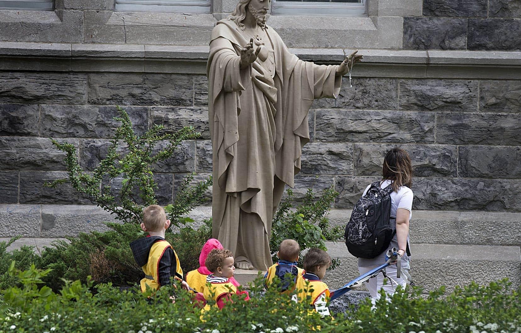 Les CPE n'ont pas leur place dans les églises, dit l'adjoint au vicaire général de Montréal, Alain Walhin.
