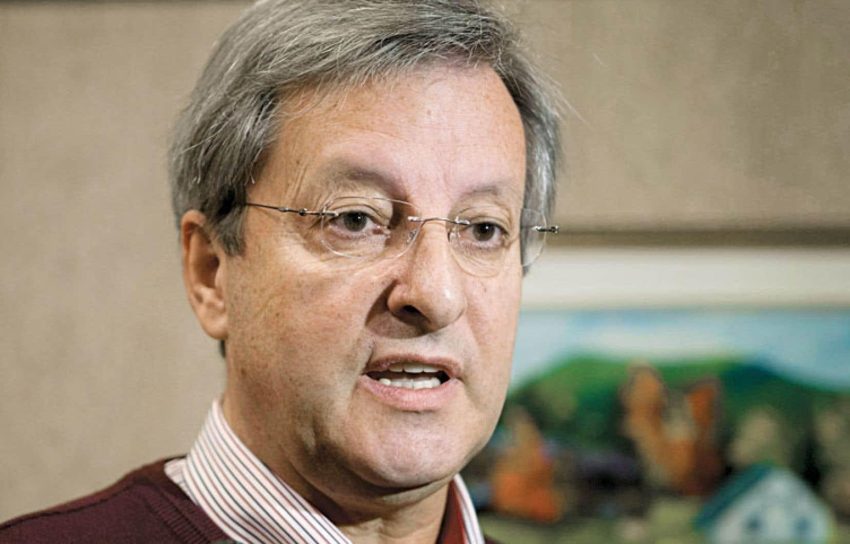 Jean Tremblay, maire de la ville de Saguenay