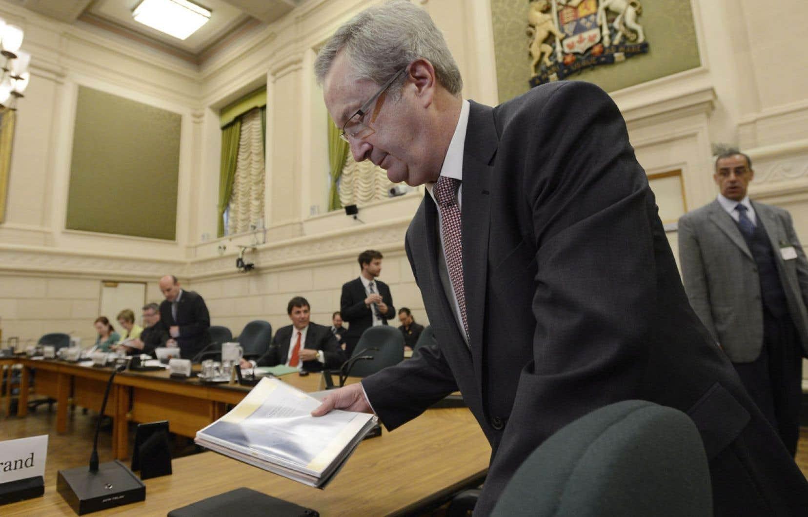 Marc Mayrand témoignait mardi devant un comité permanent de la Chambre des communes.