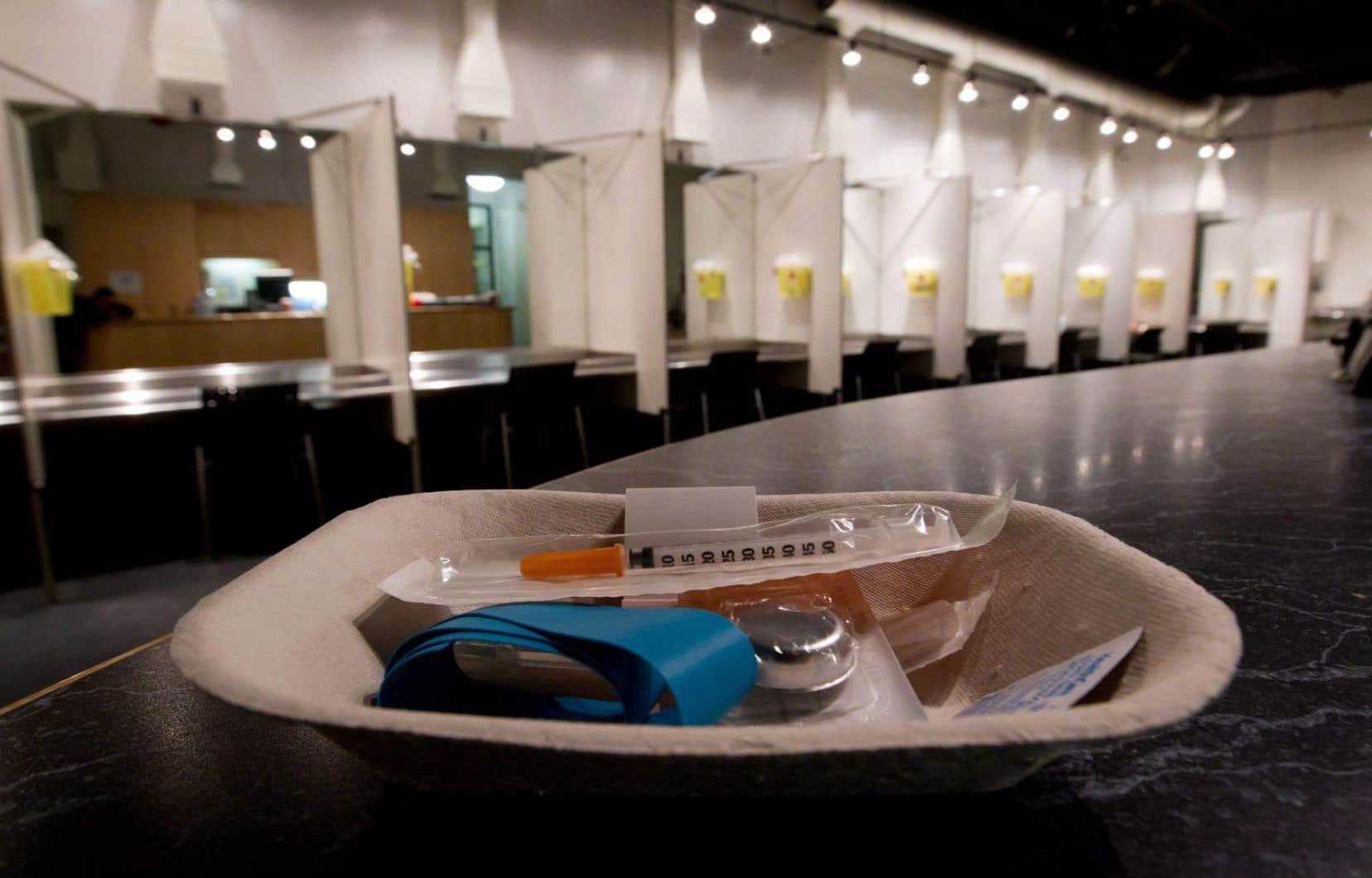 Le site d'injection supervisée Insite, à Vancouver. Selon le nouveau projet de loi conservateur déposé jeudi, pour rester ouvert, Insite devra notamment fournir des preuves de son acceptabilité sociale.