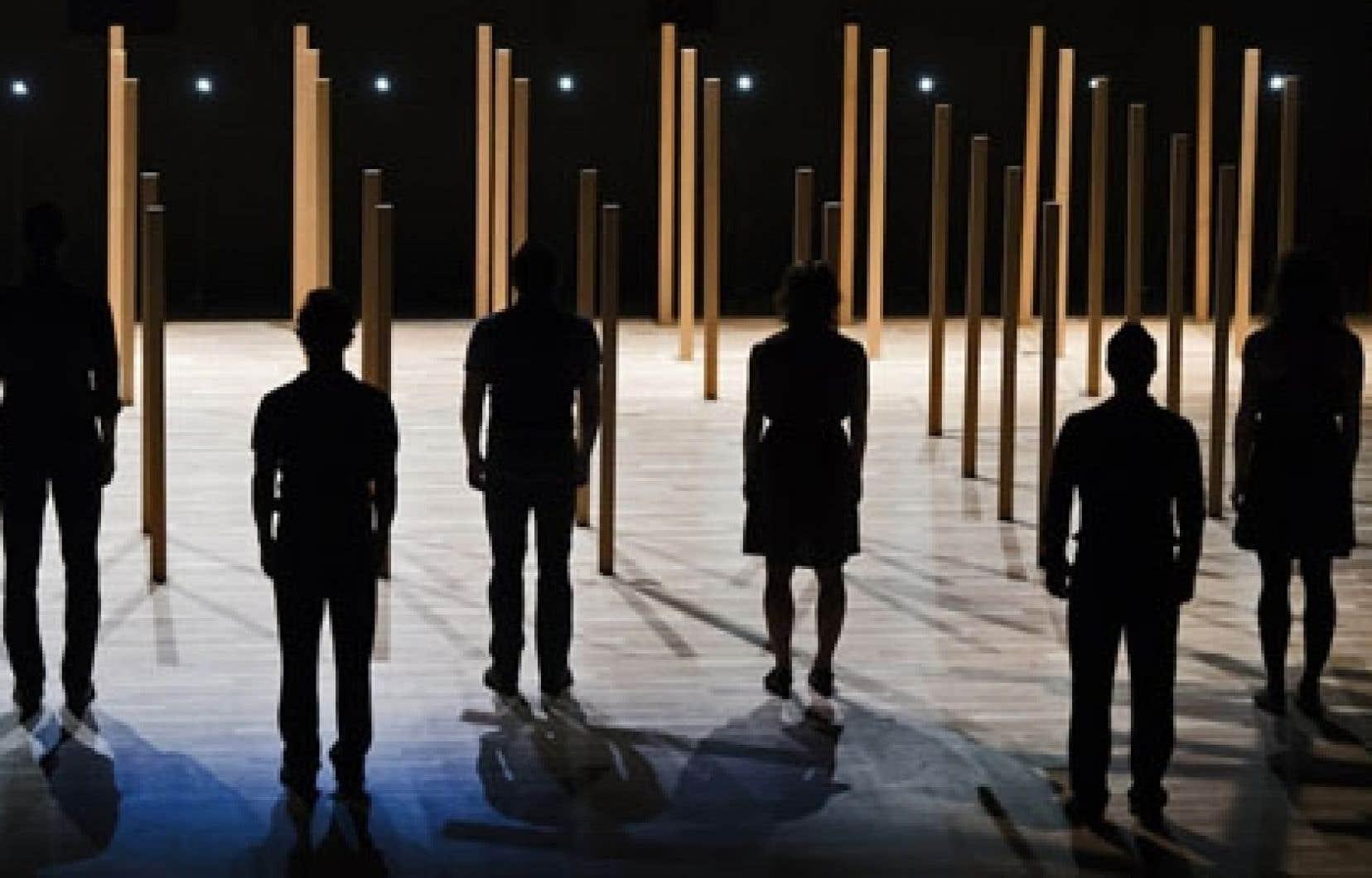 Le spectacle Khaos, d'O Vertigo
