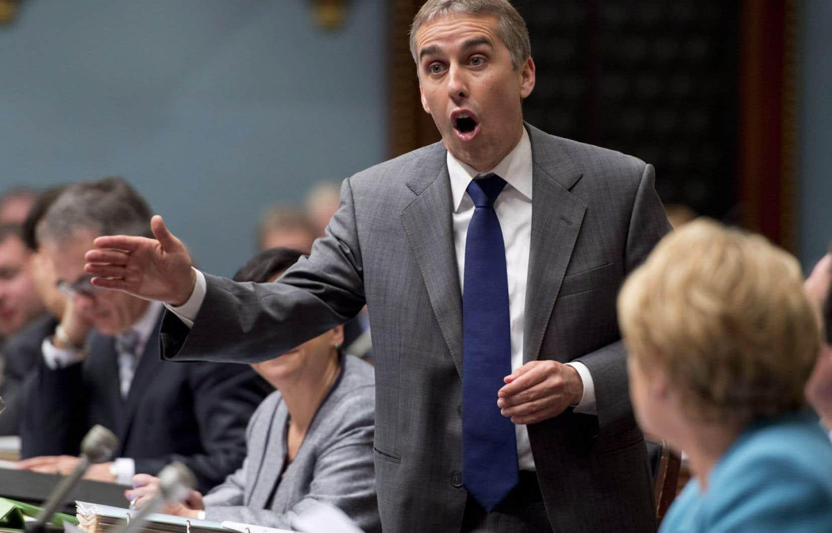 Lors de l'étude du projet de loi 25, le ministre Nicolas Marceau avait sorti de son chapeau trois amendements, dont l'un permettait à Hydro-Québec de se soustraire à l'obligation de procéder par appel d'offres pour obtenir de l'énergie éolienne.