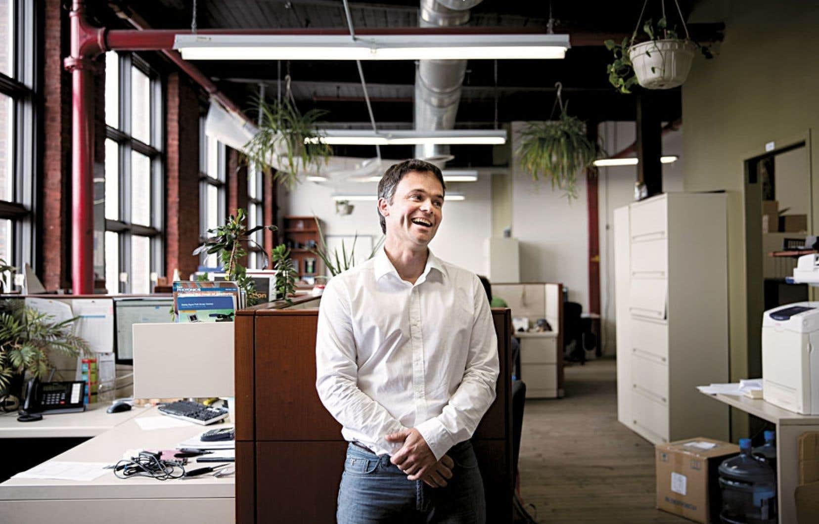 Scientifique et entrepreneur, Sébastien Blais-Ouelette dirige Photon.