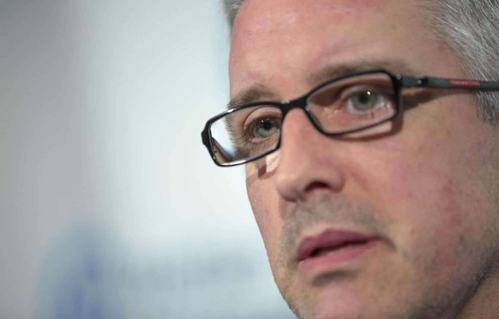 Jean-Martin Aussant a dit souhaiter que le parti survive à son départ.