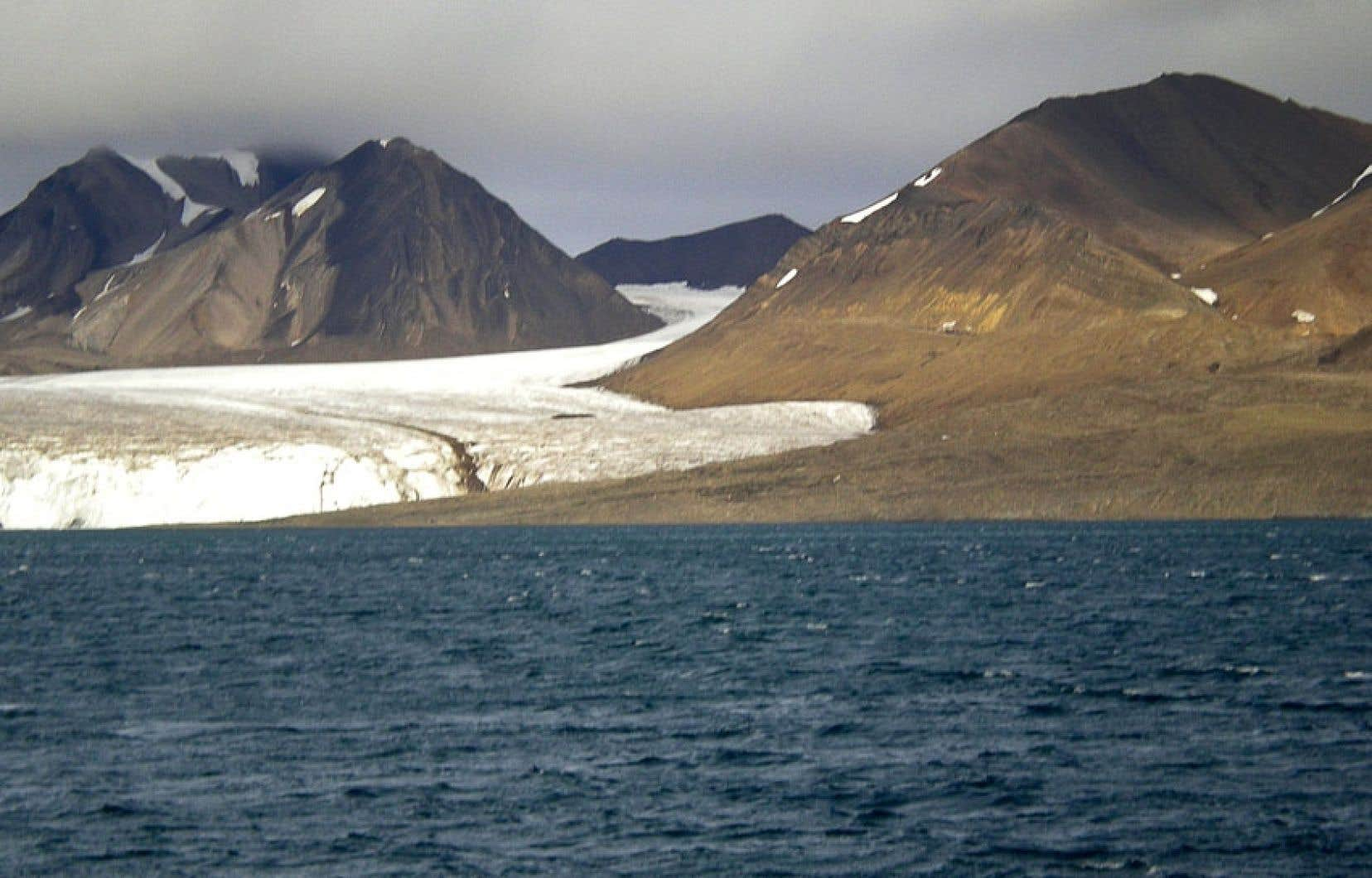 Le pergélisol pourrait commencer à fondre à partir d'un réchauffement du globe de 1,5°C.