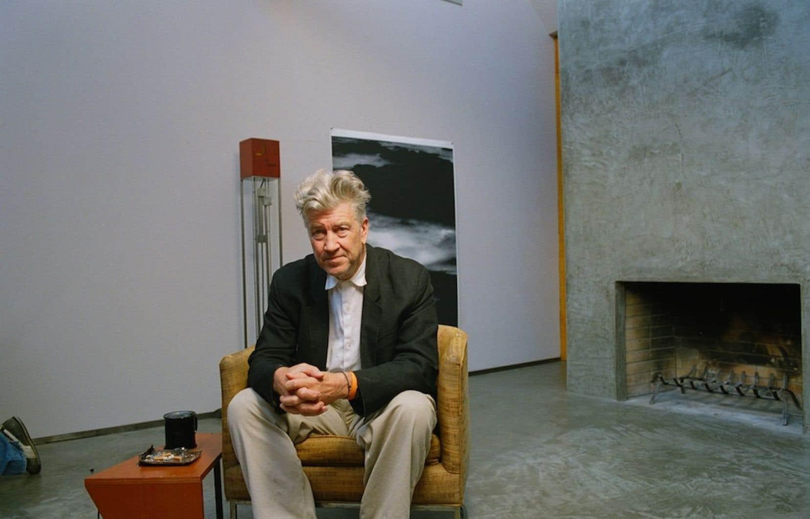David Lynch tel que vu dans le film Great Directors, d'Angela Ismailos. <br />