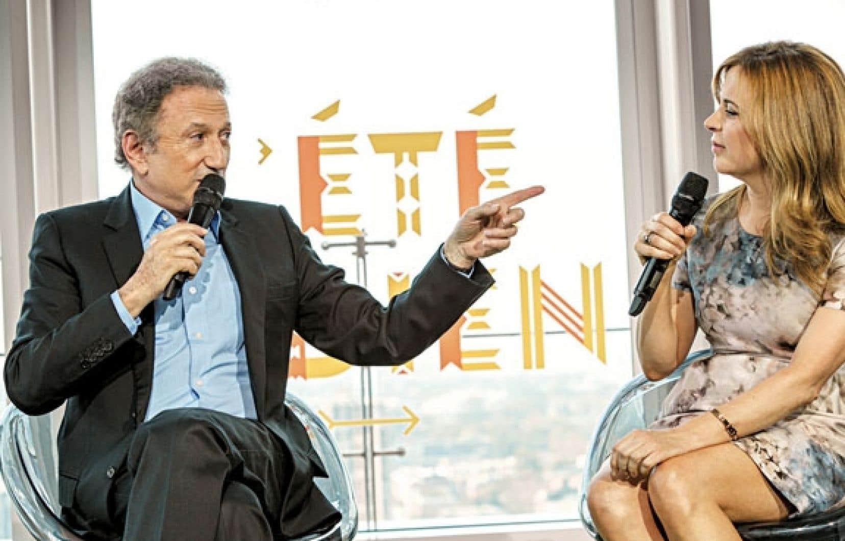 Michel Drucker et Julie Snyder