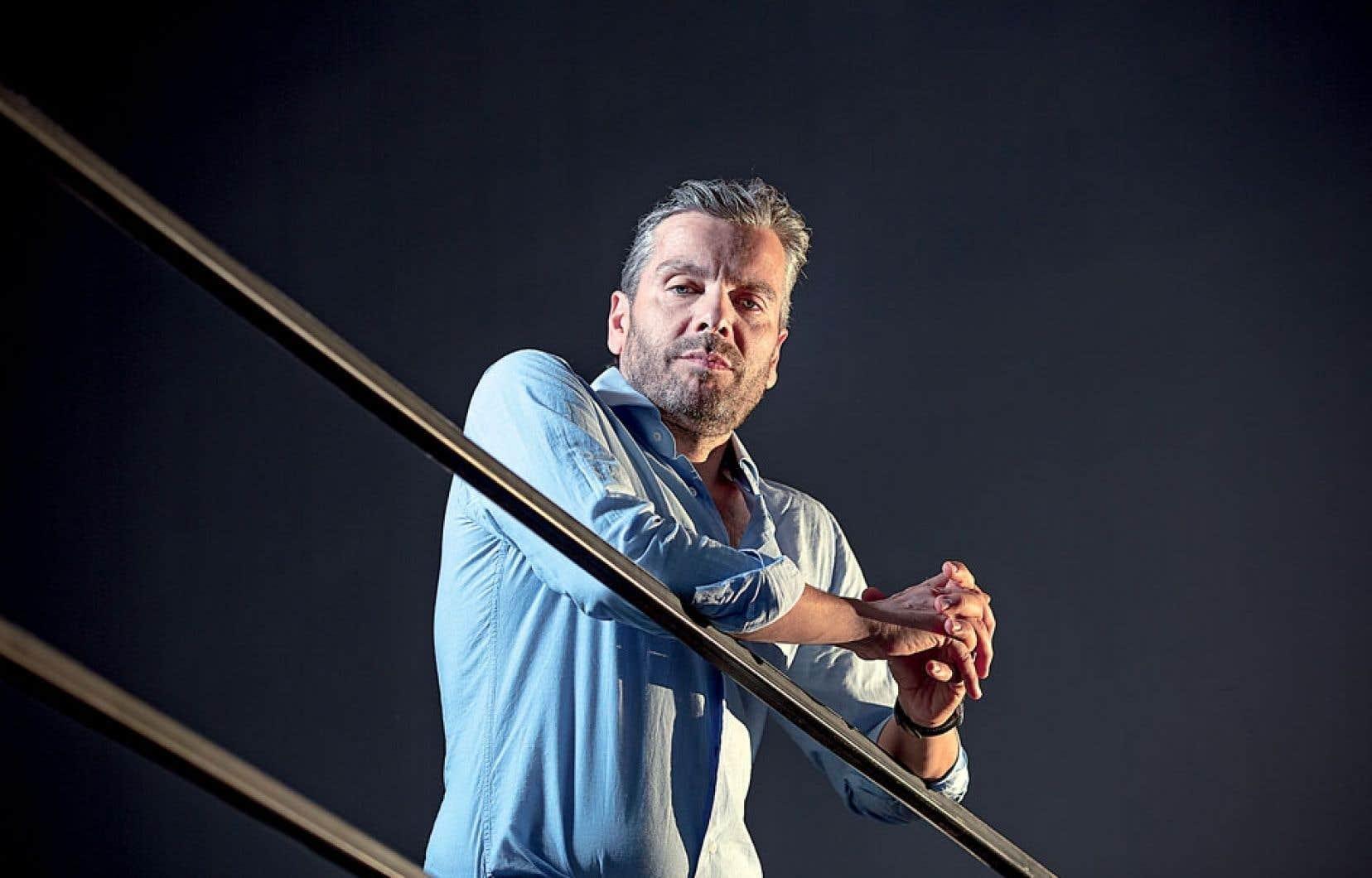 Le nouveau directeur général du Musée d'art contemporain de Montréal, John Zeppetelli