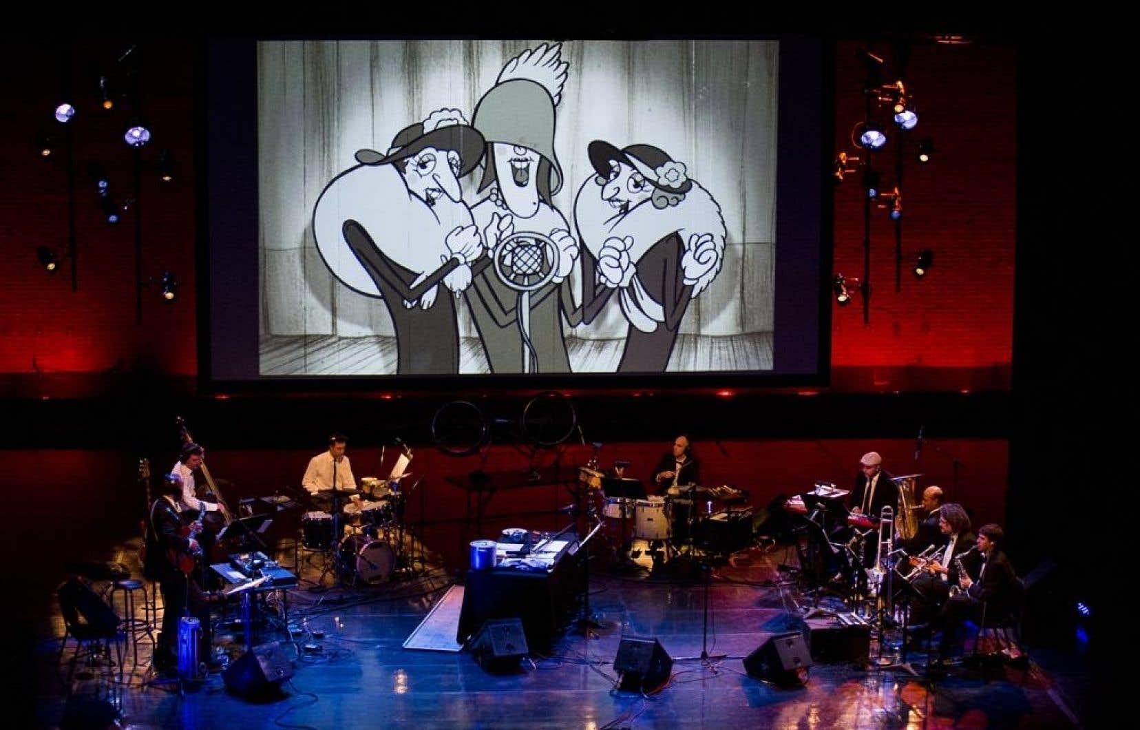 Si brillante soit l'animation du film (signé Sylvain Chomet), les Triplettes ne seraient pas les Triplettes sans la trame sonore de Charest.
