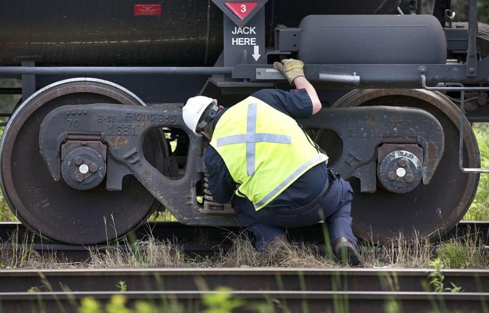 L'enquête du Bureau de la sécurité des transports (BST) s'intéresse au freinage quin'était pas suffisant sur le train qui s'est emballé.