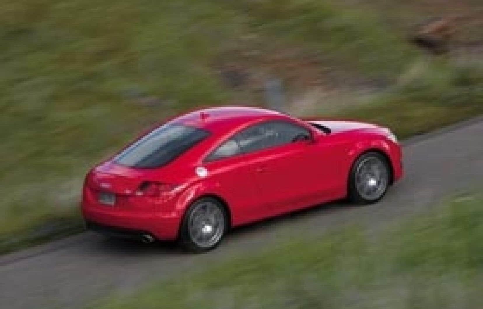 Bien que l'Audi soit orientée vers la performance, sa consommation constitue une agréable surprise.
