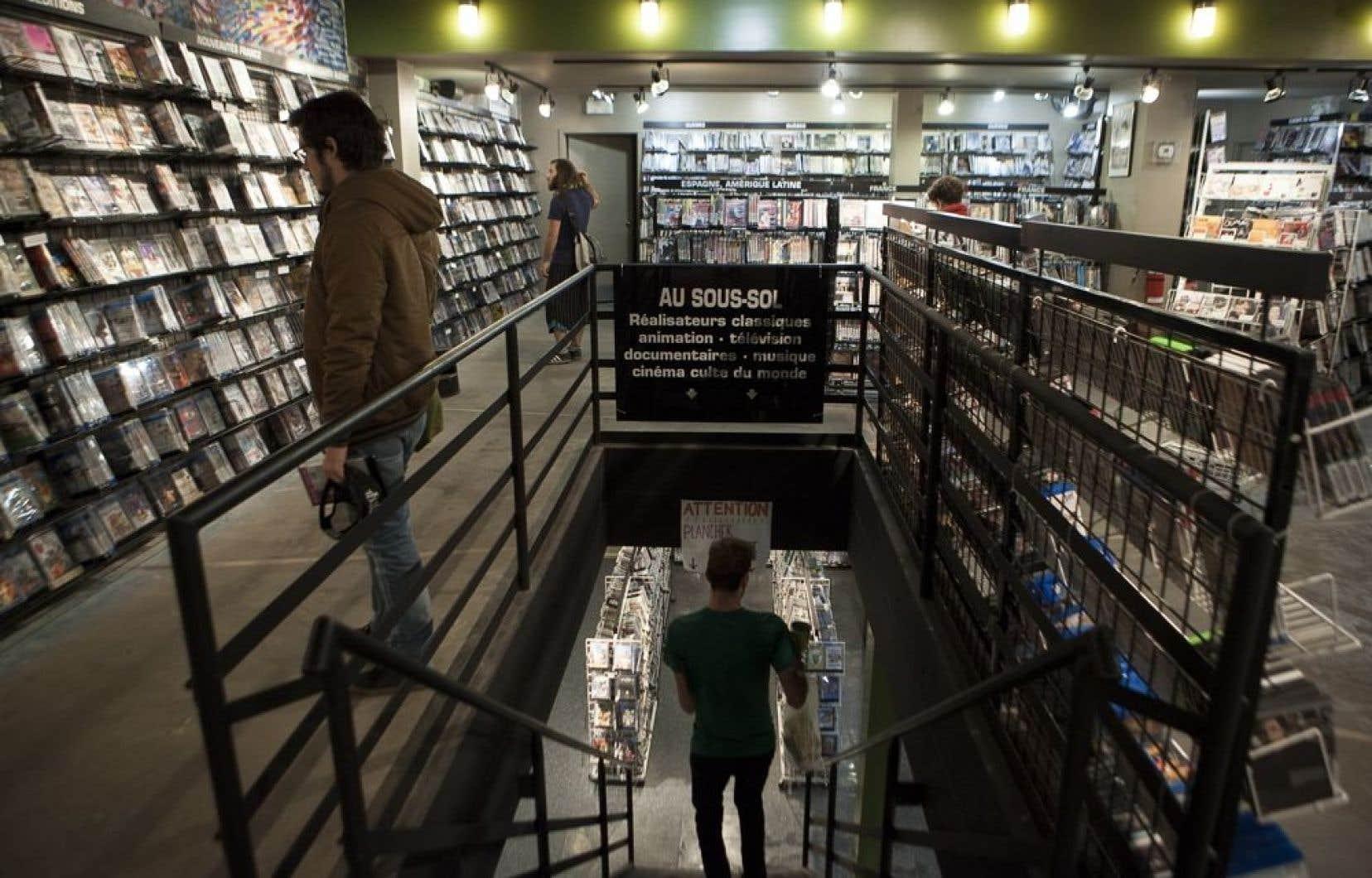 Le club vidéo la Boîte noire, un fleuron de la diffusion du cinéma d'auteur à Montréal.
