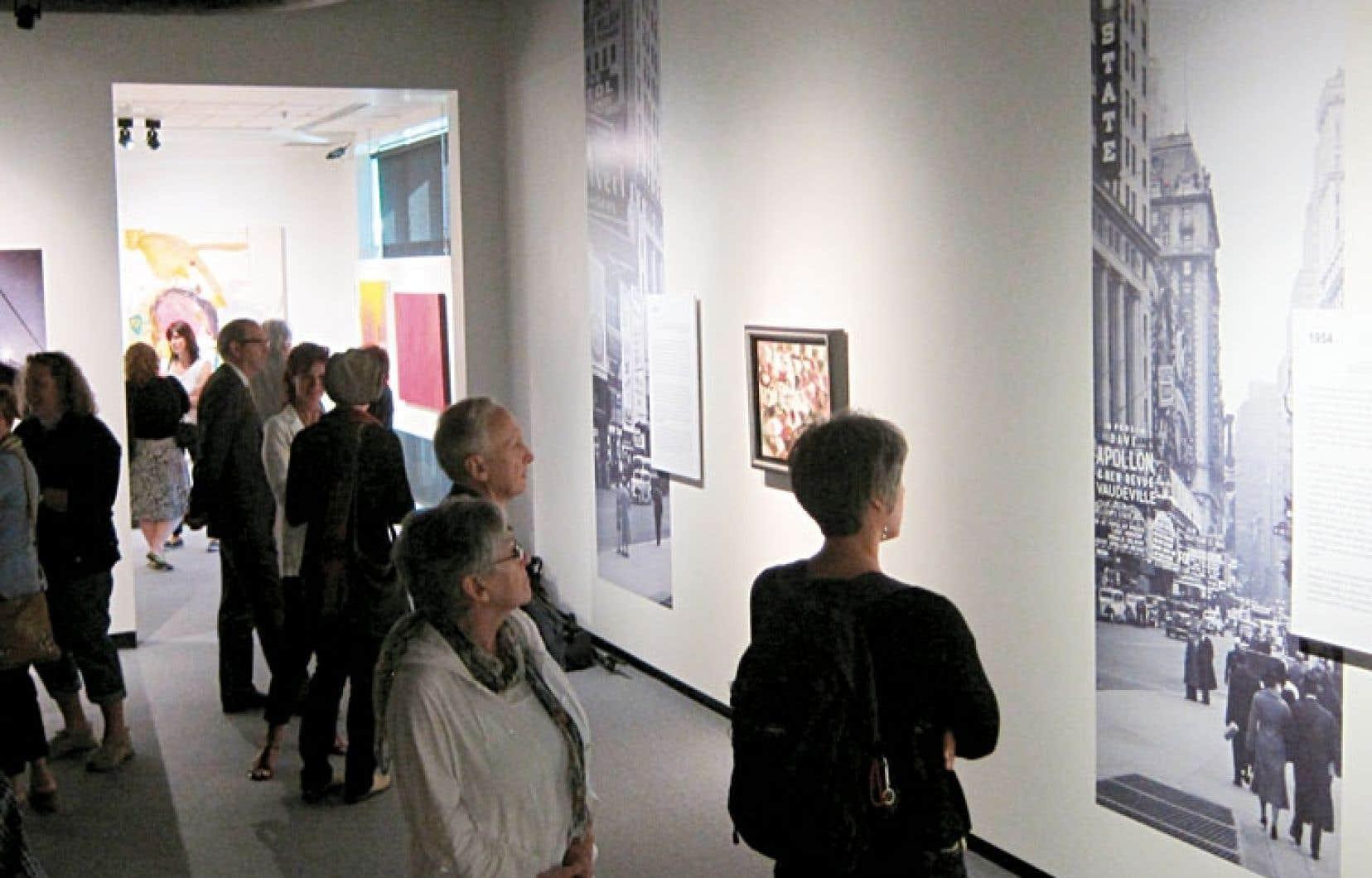 À Mont-Saint-Hilaire, une exposition est consacrée à la période new-yorkaise de Borduas.