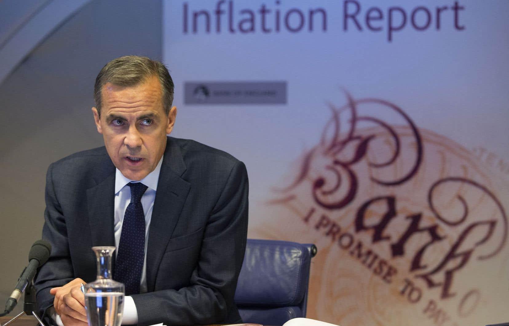 Mark Carney n'a pas tardé à imprimer sa marque à la Banque d'Angleterre.