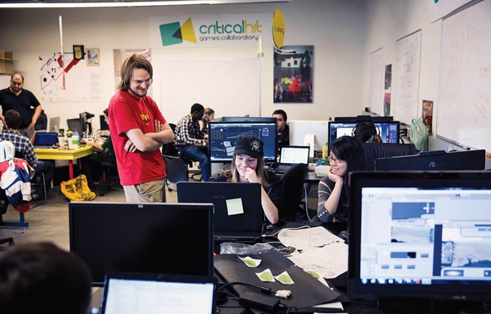 Des diplômés en jeu vidéo, des étudiants en histoire ou en science politique : la quinzaine de jeunes créateurs du programme travaille sur des jeux vidéo socialement responsables.