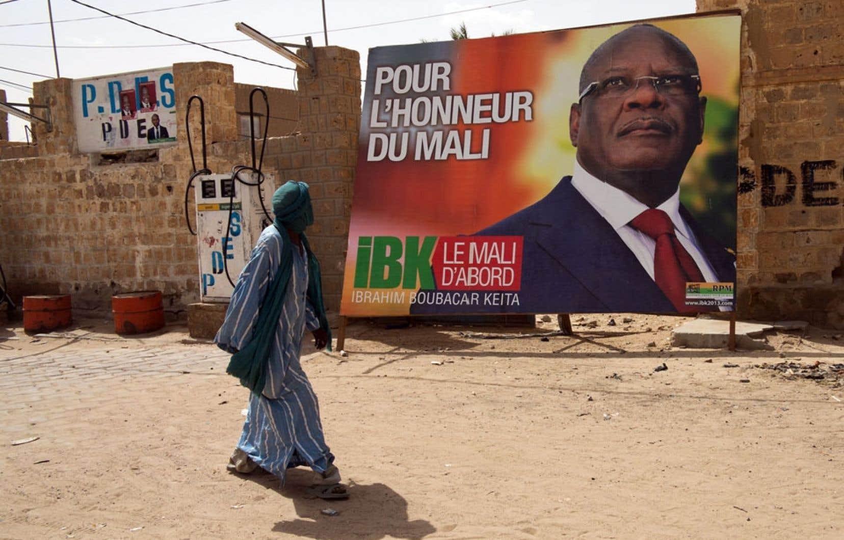 Le candidat présidentiel Ibrahim Boubacar Keïta, dit « IBK », a joué à fond la carte de l'islam.