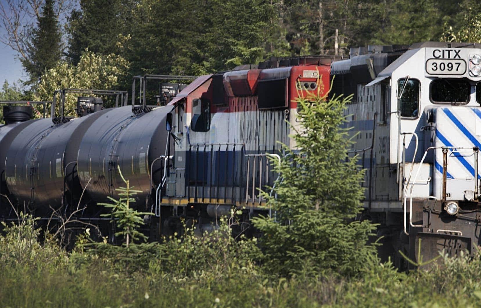 Entre 2007 et 2011, 27 accidents ont été répertoriés lors de transports par train de matières dangereuses.