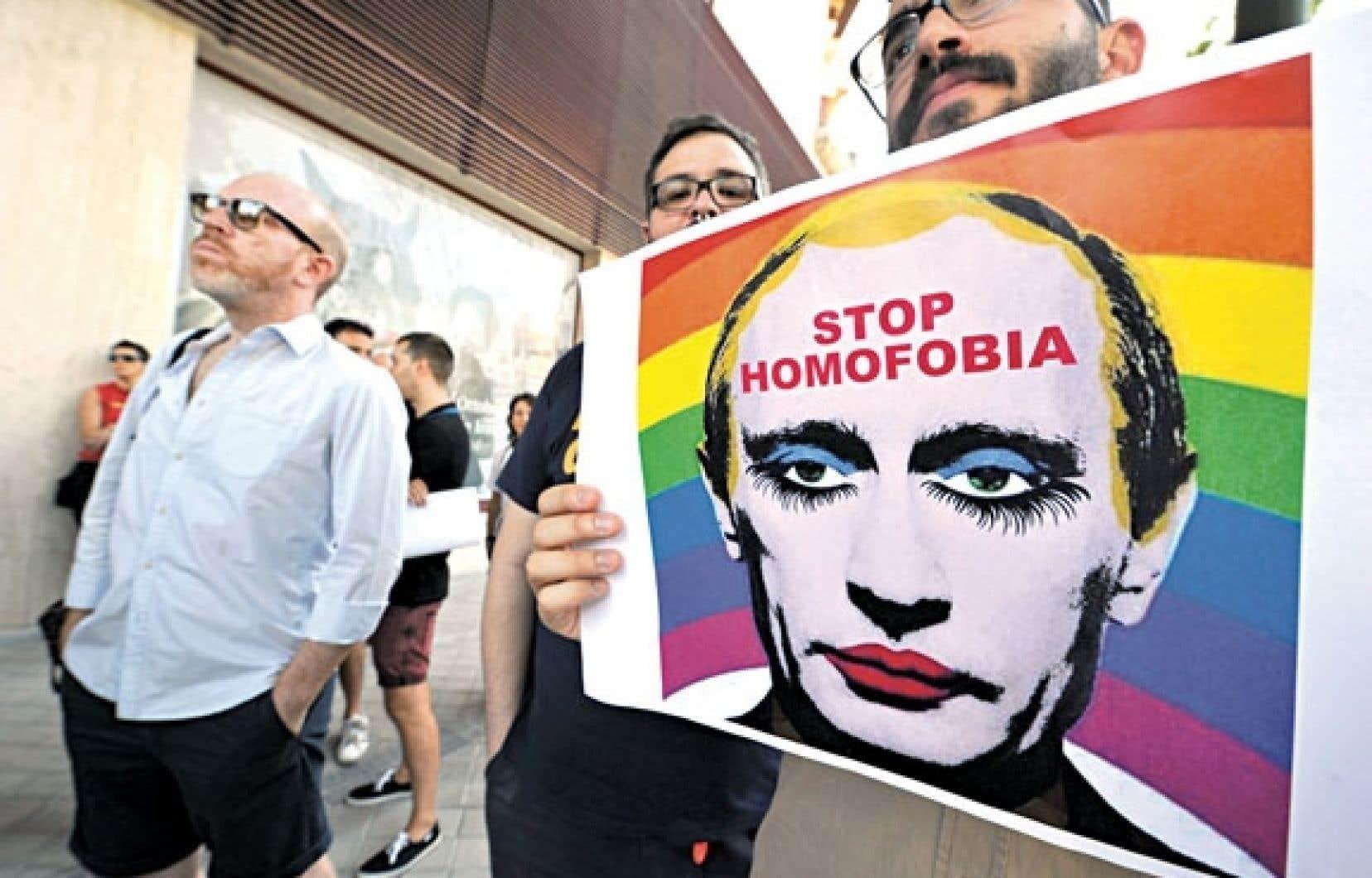 Les défenseurs des droits des homosexuels ont dénoncé vendredi le décret du Kremlin.