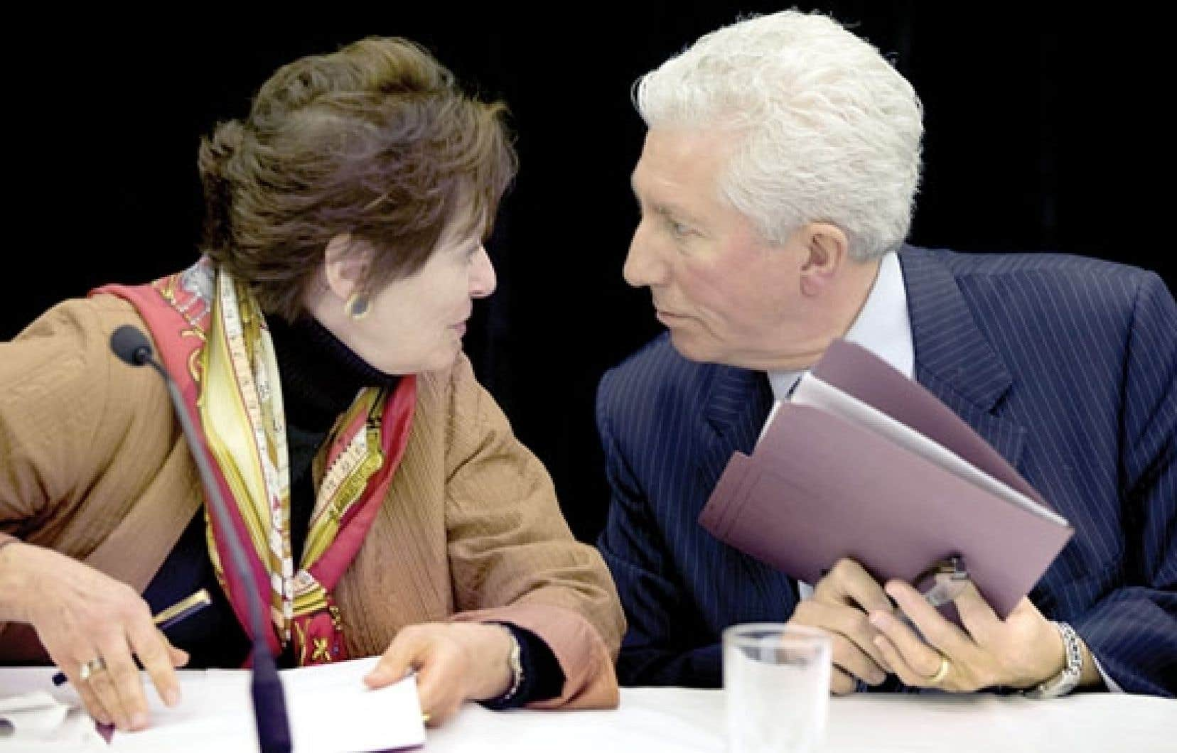 La commission est présidée par Rita Dionne-Marsolais et Gilles Duceppe.