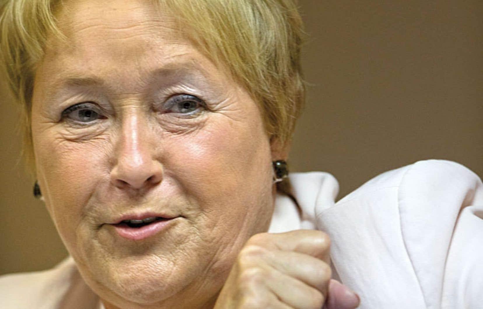 Commentant les réactions négatives au Canada anglais, Pauline Marois se défend bien de vouloir mettre de l'huile sur le feu. «L'objectif, ce n'est pas de provoquer.»