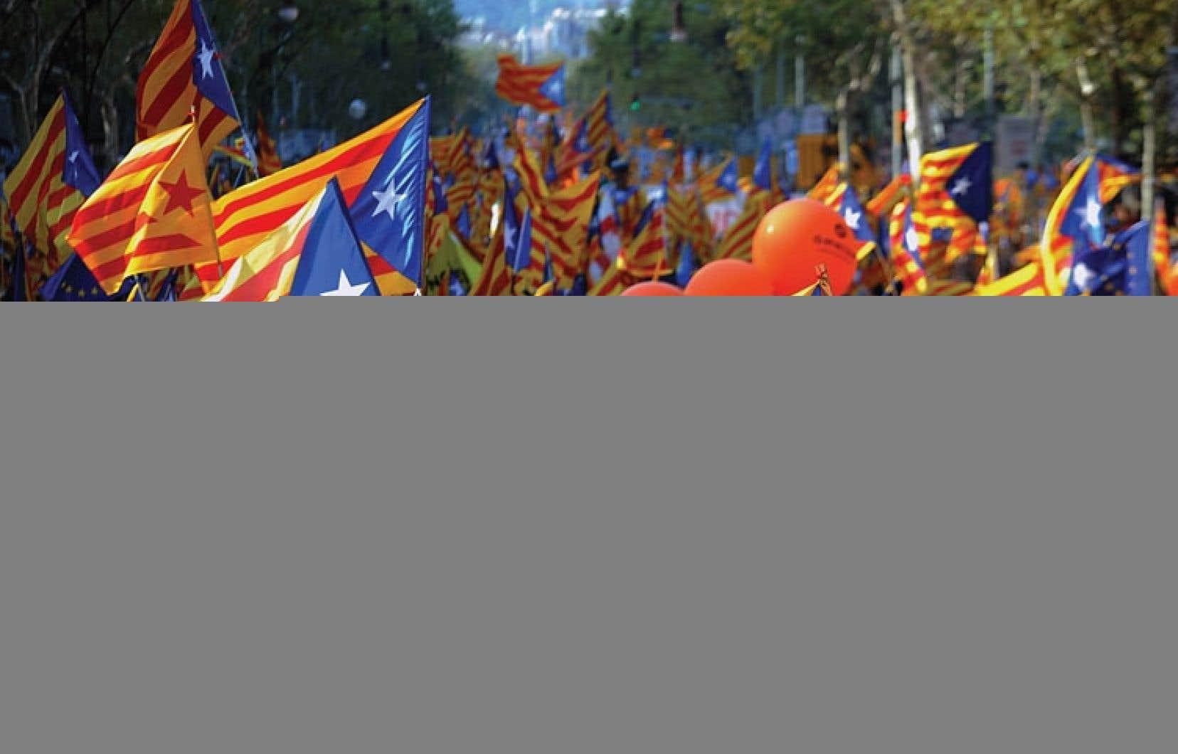 Les indépendantistes espèrent réitérer le succès de la manifestation du 11 septembre 2012, qui avait réuni plusieurs centaines de milliers de personnes à Barcelone.