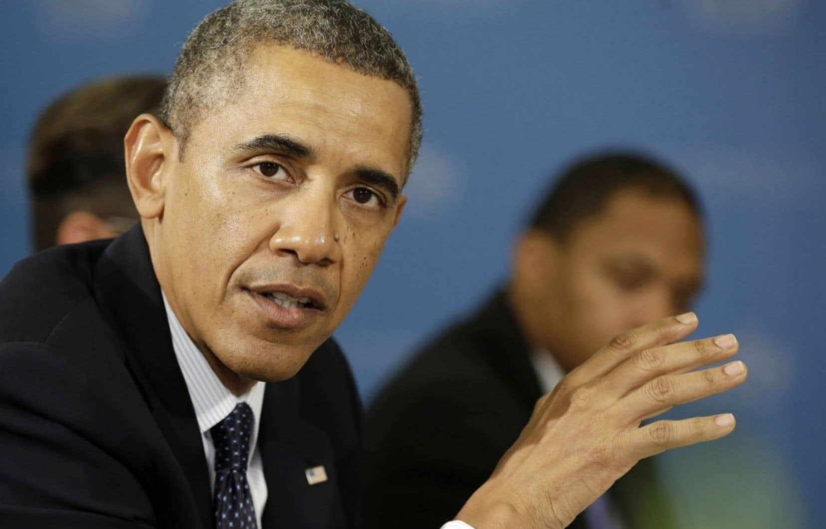 Le président des États-Unis Barack Obama a parlé d'un développement «potentiellement positif» dans le conflit et promis de le prendre «au sérieux».