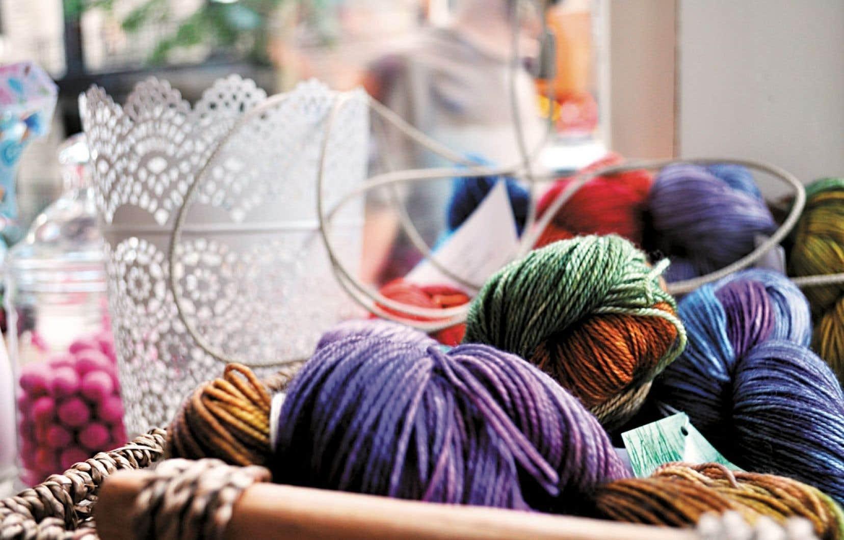 Montréal a sa première Maison tricotée entièrement vouée à l'art de la maille, rue Gilford.