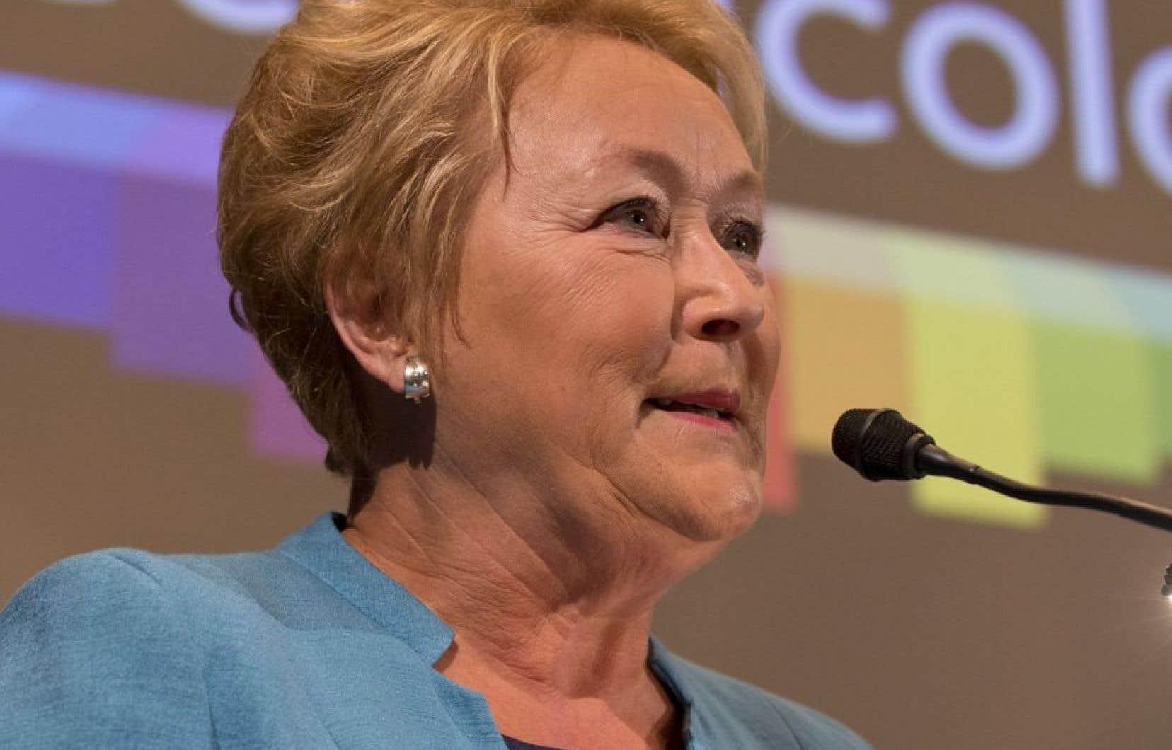 «Ses jours ne sont pas comptés», a indiquélundi avant-midila première ministre, Pauline Marois.