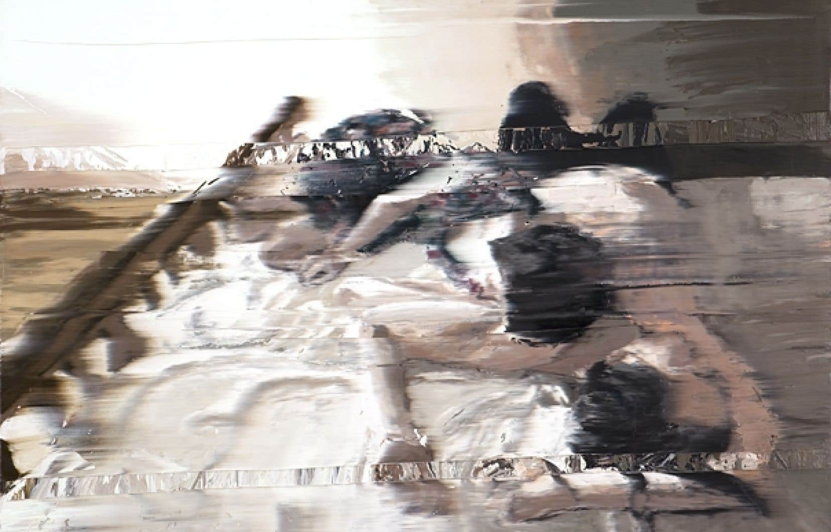 Sexe et abstraction par l'artiste suisse Andy Denzler