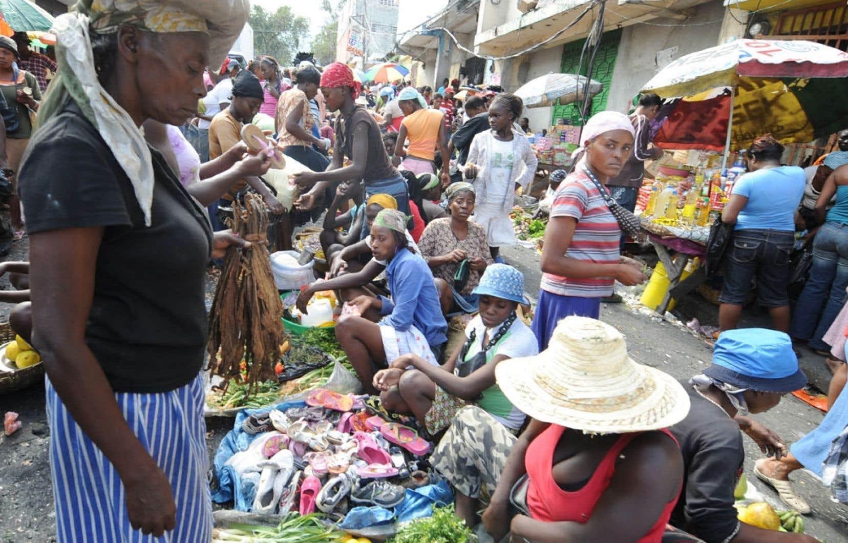 Pétion-Ville, en banlieue de Port-au-Prince, où a grandi le personnage de Nathalie