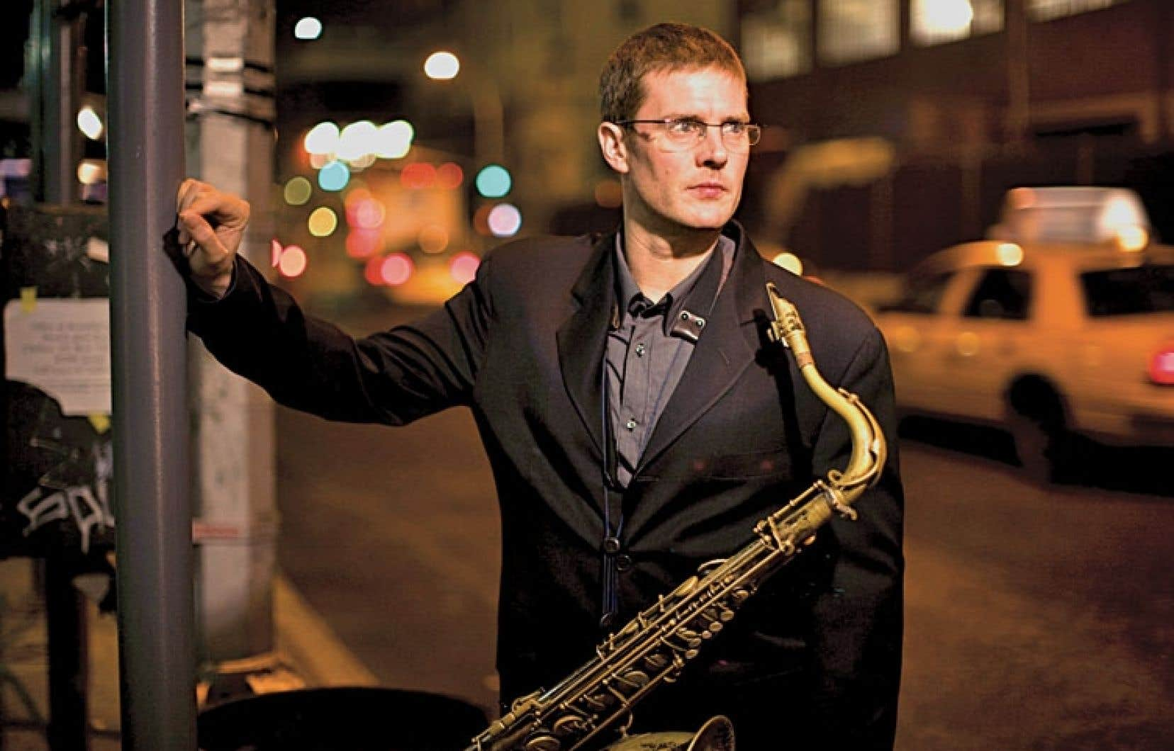 Le saxophoniste Eric Alexander