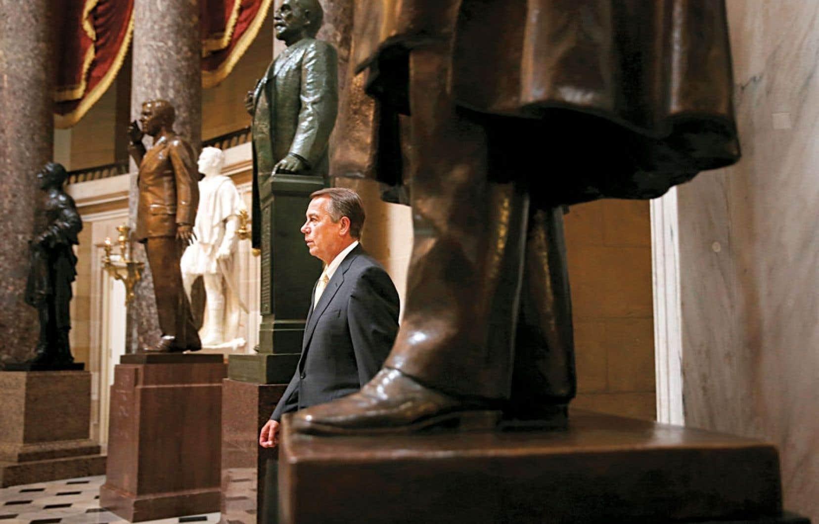 Le président de la Chambre des représentants, John Boehner, serait-il coincé par le Tea Party?