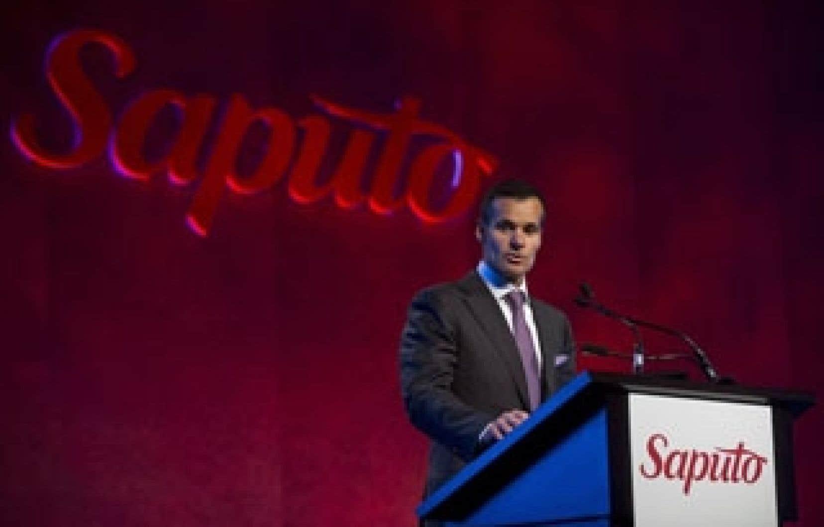 Lino Saputo jr, président et chef de la direction de Saputo.